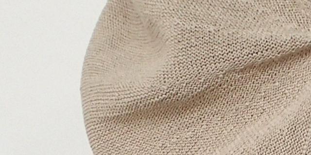 mature ha. マチュアーハ beret top gather big silk