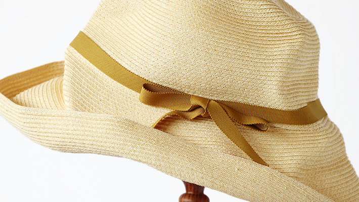mature ha. マチュアーハ BOXED HAT 11cm brim( Natural )